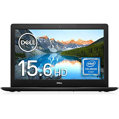 Dell ノートパソコン Inspiron 15 3583 ブラック Win10/15.6HD/Celeron 4205U/4GB/1TB HDD/Webカメラ/無線L...