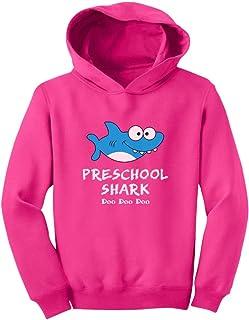 Tstars Preschool Shark Doo Doo Back to School Funny Toddler Hoodie