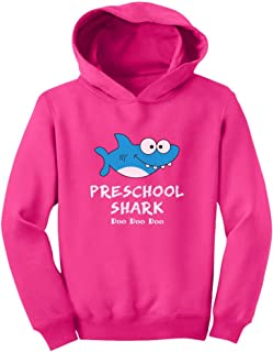 Tstars Preschool Shark Doo Doo Back to School Funny Toddler Hoodie