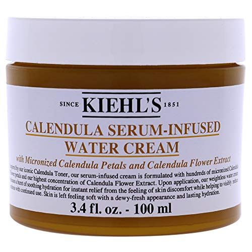 Kiehl's Calendula Serum-Infused Water Cream femme/woman Gesichtscreme, 100 ml