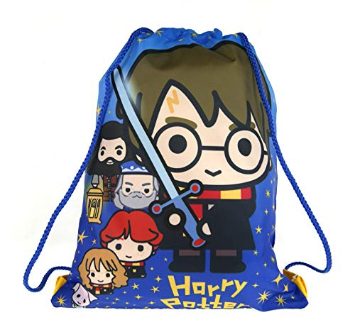 Harry Potter Trekkoord Gym Tas Cartoon Stijl Zweinstein Kids Trainer Rugzak