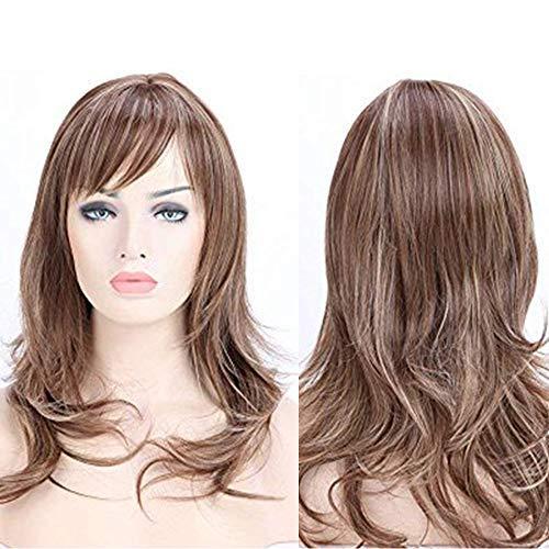 comprar pelucas largas castañas online