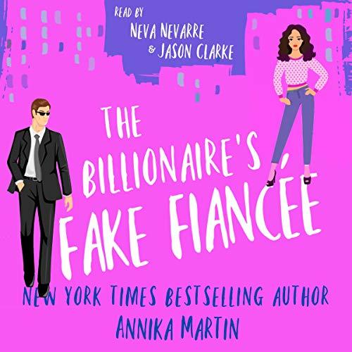 The Billionaire's Fake Fiancée cover art