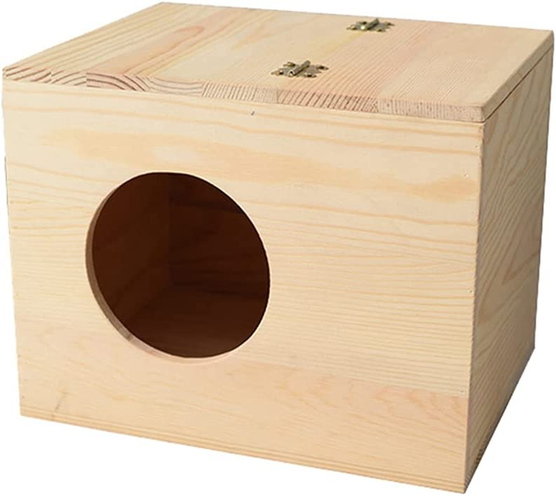 PetPhindU Bird Nest Natural Wood Max 82% OFF Solid Decorative Boston Mall Bir
