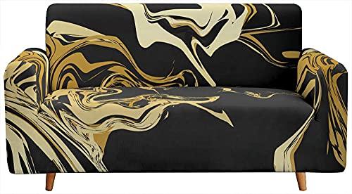 Fundas para Sofa Elastica,Funda de sofá de Alta Elasticidad de 1 2 3 4 plazas, sofá de Dos plazas Funda de sofá de poliéster Spandex Funda Protectora de muebles-A01._190-230cm