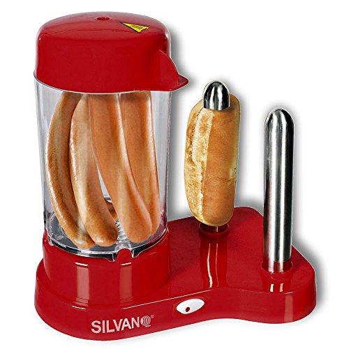 Machine à hot dog Cuisine les saucisses et grille le pain 450 W