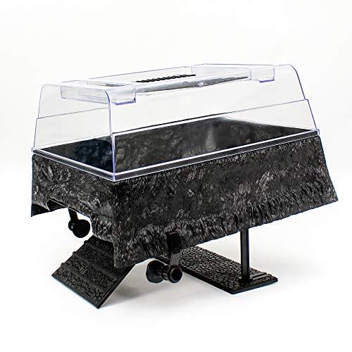 Penn Plax Turtle Tank Topper – Above-Tank Basking Platform for Turtle Aquariums, 17 x 14 x 10 Inches