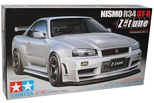 Tamiyia Nissan Skyline R34 Nismo Silber Z-Tune GT-R 1998-2002 24282 Kit Bausatz 1/24 Modell Auto Modell Auto