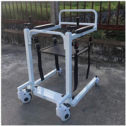 JWCN Hochleistungs-Patientenlift mit manueller niedriger Basis Mit Teleskopfunktion 500 lb. Gewichtskapazität Patiententransfer-Hebebühne für ältere Menschen mit Behinderungen Uptodate