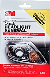 3M 39186 Quick Headlight Renewal