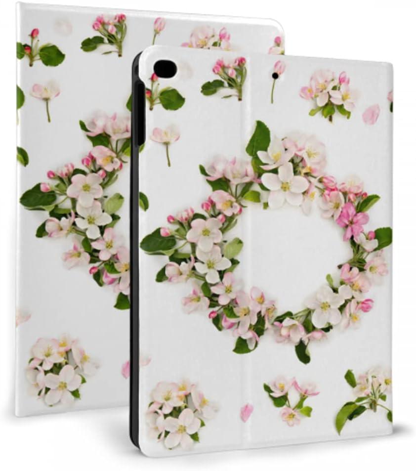 Case for ipad 2017 2018 air 1 Pr 2 Popular overseas White Wreath High quality Flowerson