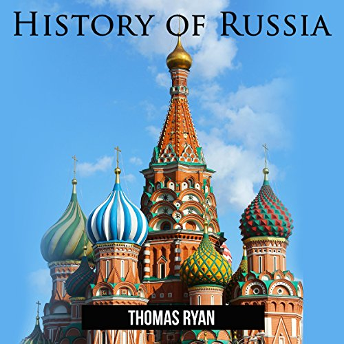History of Russia audiobook cover art