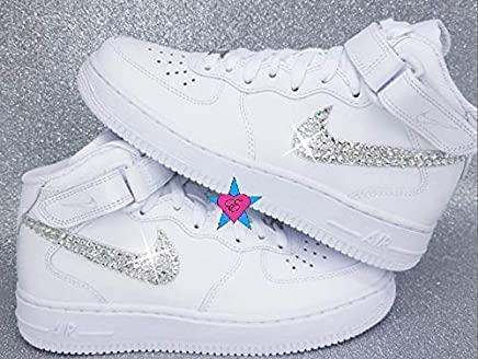 e6a996ec3614 Sale - Custom Rhinestone Air Force 1