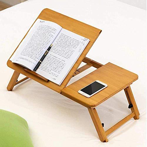 S / M / L ajustable de bambú del ordenador portátil notebook soporte de mesa de escritorio del ordenador portátil Tabla for la cama Sofá cama tabla de la bandeja de la comida campestre El estudio de l