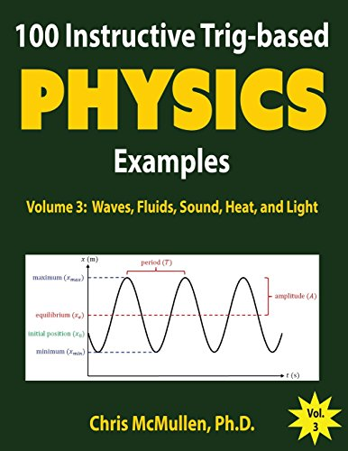 100 Instructive Trig-based Physics Examples: Waves, Fluids, Sound, Heat, and Light (Trig-based Physics Problems with Solutions) (Volume 3)