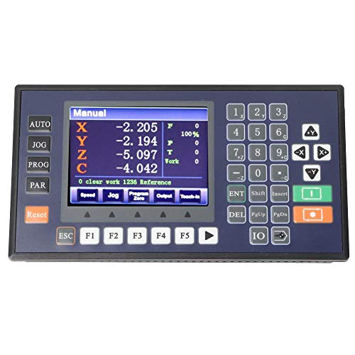 Great Features Of 4 Axis USB CNC Motion Controller TC5540V 3.5 LCD Display High Accuracy CNC Contro...