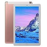 bansd 10.1 Pulgadas Tableta WiFi Tableta IPS RAM 10G + ROM 512GB Wi-Fi Android Rose Gold EU