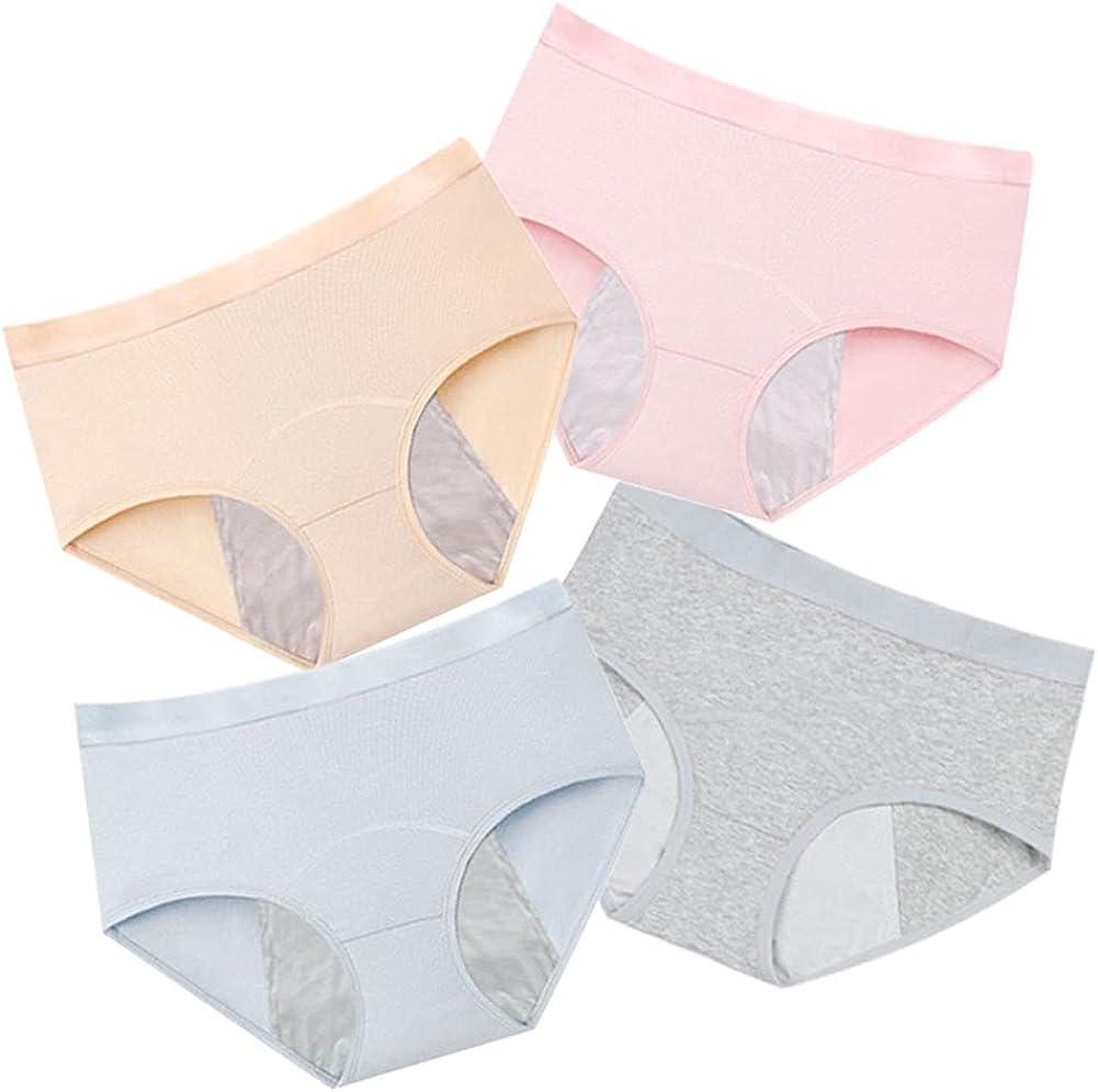Teen Period Panties Cotton Girls Leak New product! New type Max 58% OFF Menstrual Underwear Proof