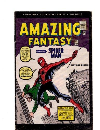 "Spider-man Collectible Series #1 ""Reprints Amazing Fantasy #15"""