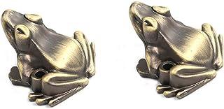 sleeri Incense Stick Holder - Incense Holder - Incense Burner Stick Holder Censer, Frog Incense Stick Holder, Cute Frog Shaped Incense Burner Holder for Incense Stick Home Decoration /2PCs (Bronze)