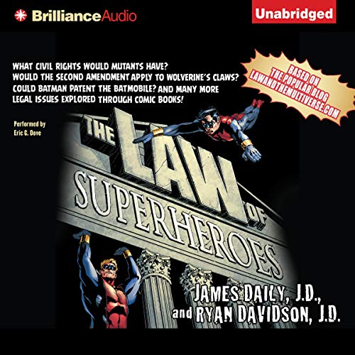 The Law of Superheroes cover art