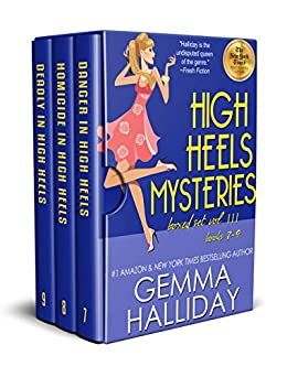 High Heels Mysteries Boxed Set Vol. III (Books 7-9) by [Gemma Halliday]