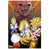ABYstyle – DRAGON BALL – Póster 'Buu Vs Saiyans' (91,5 x 61)