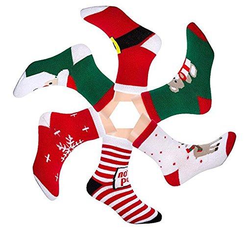 Calcetines de Navidad para bebe, niña o niño