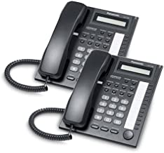 Panasonic KX-T7730 Corded Telephone Black (2 Pack)
