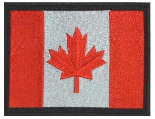 Klicnow Canadá Bordado Parche 13cm x 10cm Aprox