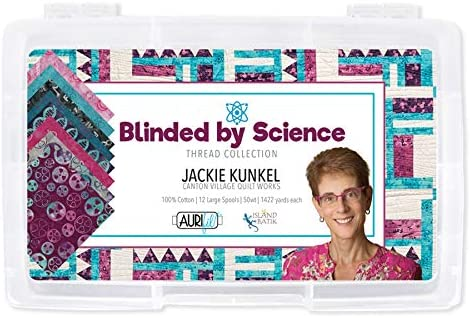 Aurifil Blinded Our shop OFFers the best service by Science Max 50% OFF Jackie Village Kunkel Quilt Wo Canton