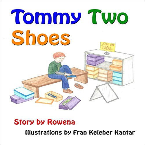 Tommy Two Shoes audiobook cover art