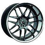 xxr wheels 526 - XXR WHEELS 526 Rim 20X11 5x4.5/5x120 Offset 11 Chromium Black/SSC (Qty of 1)