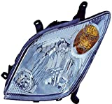 DEPO 312-1185L-US Replacement Driver Side Headlight Lens Housing (This product is an aftermarket product. It is not created or sold by the OE car company)