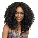 Janet Collection Natural Me Deep Part Lace Wig Zara (1B (Off black))