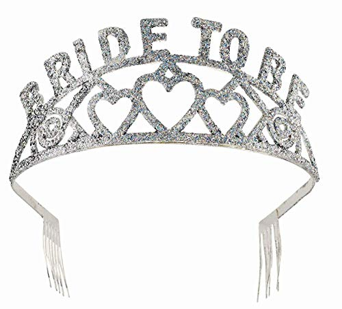 Forum Novelties Glitter Tiara (Bride to Be)