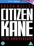 Citizen Kane - 75th Anniversary Edition [Blu-ray] [2016] [Region Free]