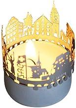13gramm Zug-Skyline Windlicht Schattenspiel Souvenir, 3D Ede