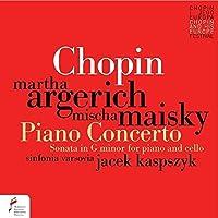 Piano Concerto No. 1 / Sonata for Piano & Cello by Martha Argerich