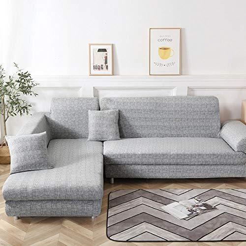 Nannan Hoezen voor Hoekbank L Gevormde Sofa Woonkamer Sectionele Chaise Longue Sofa Slipcover Hoek Sofa Hoezen Stretch