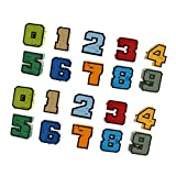 sharprepublic 2 Juegos de Números Que Transforman El Robot para Niños, Bolsa de Juego, Rellenos, Juguetes Educativos, Regalo
