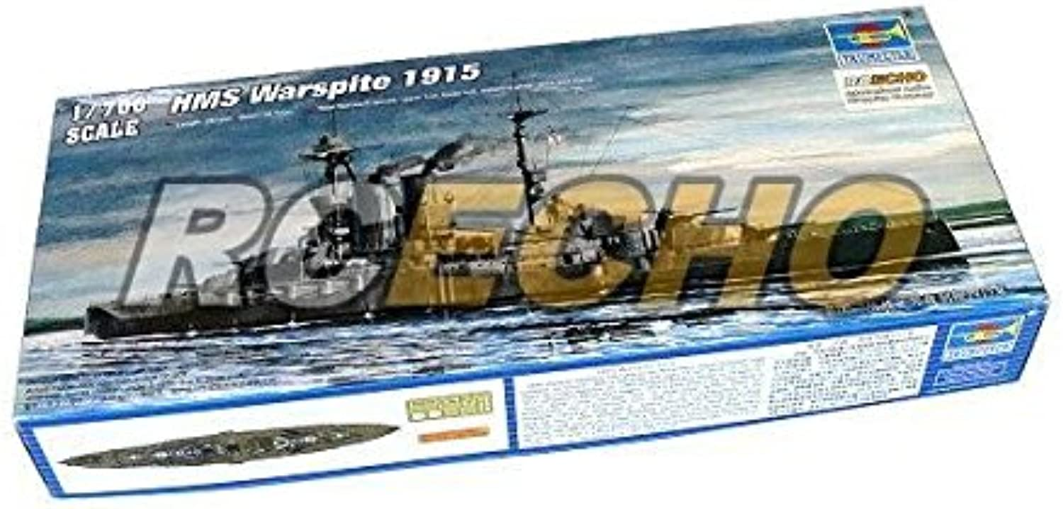 RCECHO® Trumpeter Military Model 1 700 War Ship HMS Warspite 1915 Hobby 05780 P5780 with 174; Full Version Apps Edition B01M1DFFTI Neuartiges Design  | Online Outlet Store
