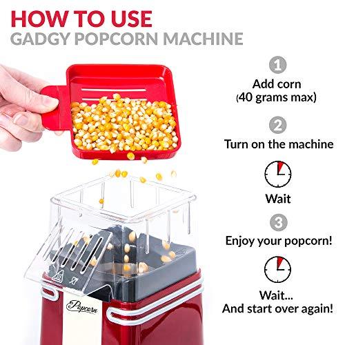 Gadgy – Heißluft – Popcornmaschine - 6