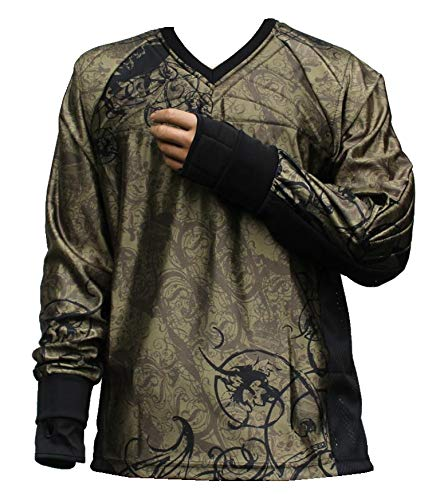 "PBC Paintball Jersey ""Ghost"" Olive (L)"