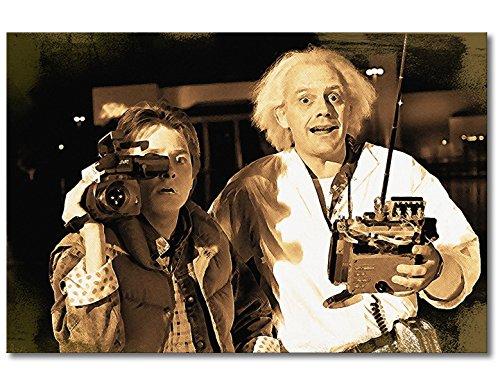WandbilderXXL Immagine su Tela Ritorno al Futuro Moment 90x 60cm–in 6Diverse Misure. Stampata su Tela e preparata su Telaio. Quadri su Tela a Prezzi Top.