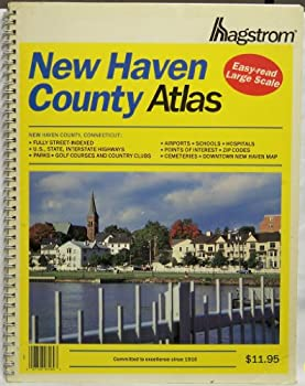 Spiral-bound New Haven County Atlas Book