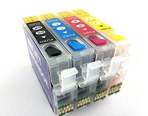 Cartucce d'inchiostro ricaricabili 29XL PIENE DI PRONTO USO GIA' CARICHE, per stampanti XP-235, XP-245, XP-332, XP-335, XP-432, XP-435, XP-247, XP-442, XP-342, XP-345, XP-445, T2991-T2994