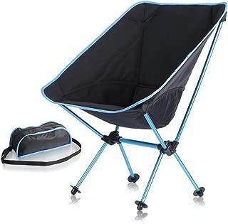Outdoor Portable Folding Camping Chair Garden Chair Moon Chair Hiking Fishing Picnic