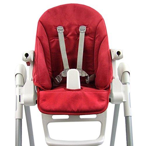 Bambiniwelt - Funda de repuesto para Peg Perego Zero3 Velour rojo rojo