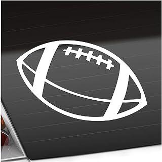 Football 15 x 11 cm IN 15 FARBEN   Neon + Chrom! Sticker Aufkleber